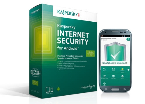 Phần mềm diệt Virus cho điện thoại Android Kaspersky Internet Security