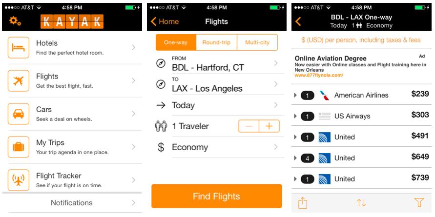 11 ứng dụng đặt vé máy bay tiện lợi, dễ sử dụng