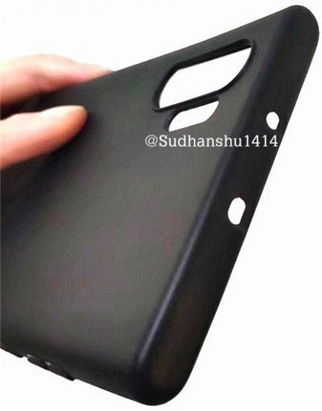 Hình ảnh được cho là vỏ case đảm bảo chính xác của Note 10 Pro