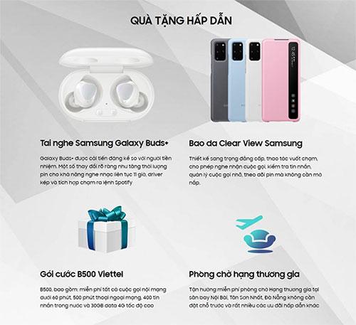 Đặt trước Galaxy S20 series tại Viettel Store nhận ưu đãi khủng (1)