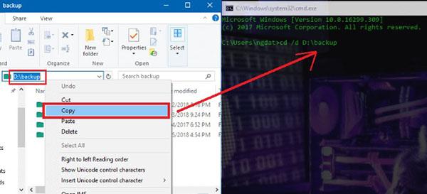 Cách xóa một file cứng đầu nằm trong thư mục backup