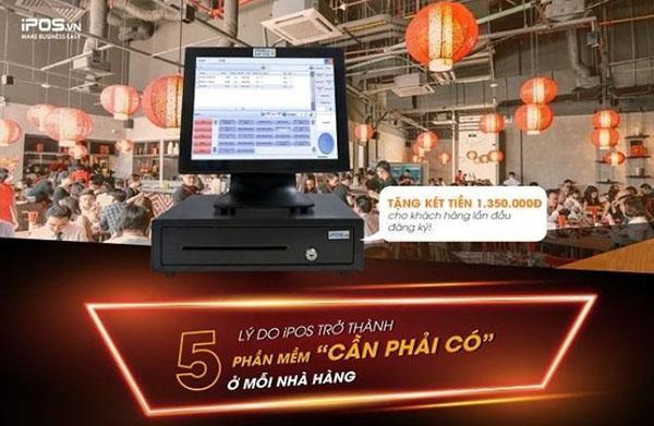 Phần mềm quản lý nhà hàng là công cụ cần phải có trong mỗi nhà hàng