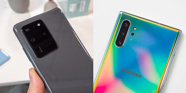 Thiết kế camera của Galaxy S20 Ultra lớn hơn Note 10+