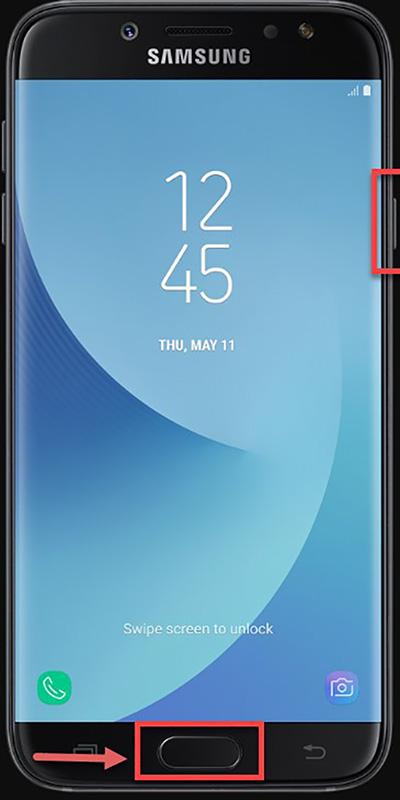 Chụp ảnh màn hình Galaxy J7
