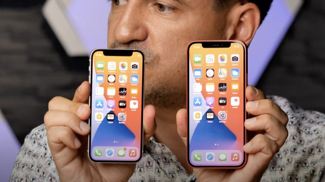 Kích thước iPhone 12 và iPhone 12 Mini