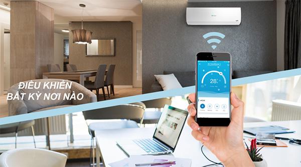 Kết nối wifi để điều khiển máy lạnh Casper bằng điện thoại