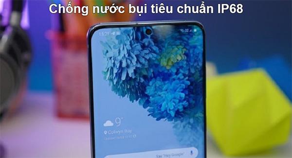 Samsung sẽ trang bị chuẩn kháng nước và bụi bẩn tương ứng như IP67 và IP68