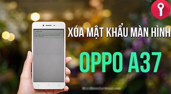 Xóa file cài đặt khóa máy trên điện thoại Oppo