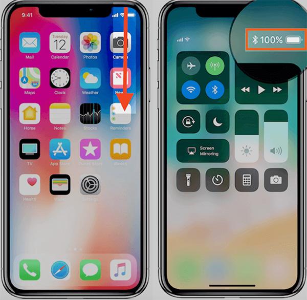 Bạn có thể kiểm tra phần trăm pin trên iPhone 11 bằng cách này