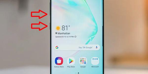 Cách tắt nguồn Samsung không cần nút nguồn (1)