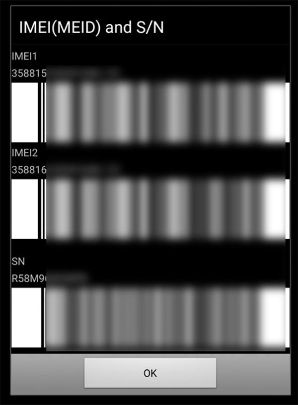Kiểm tra mã IMEI bằng cú pháp