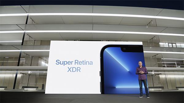 Công nghệ Super Retina XDR mang lại chất lượng hiển thị màn hình cực sắc nét, chân thực